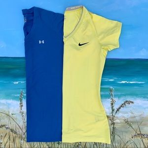 Nike & Under Armour Bundle of 2 Size Medium